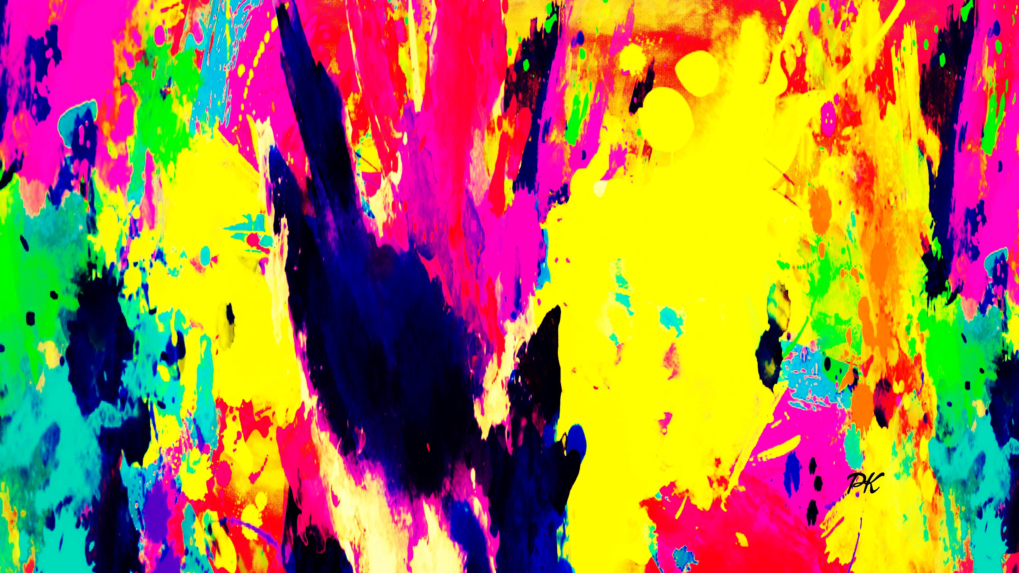 Color Splash Yellow Black