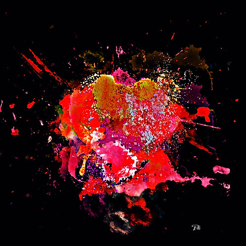 Abstract Water & Paint