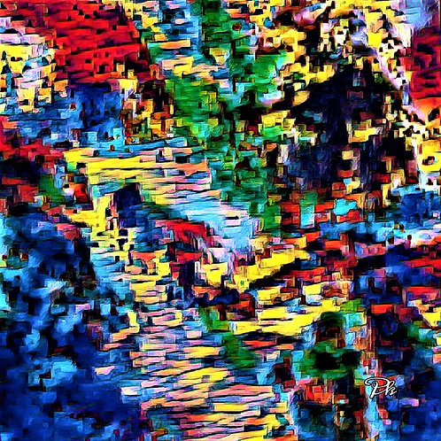 Abstract Hillside Homes