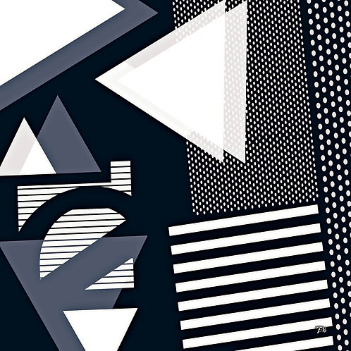Geometric Lines & Polka Dots