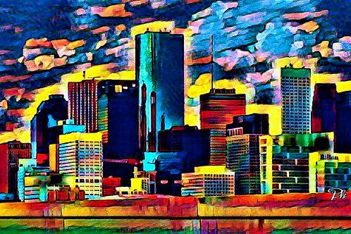 City View From Bridge