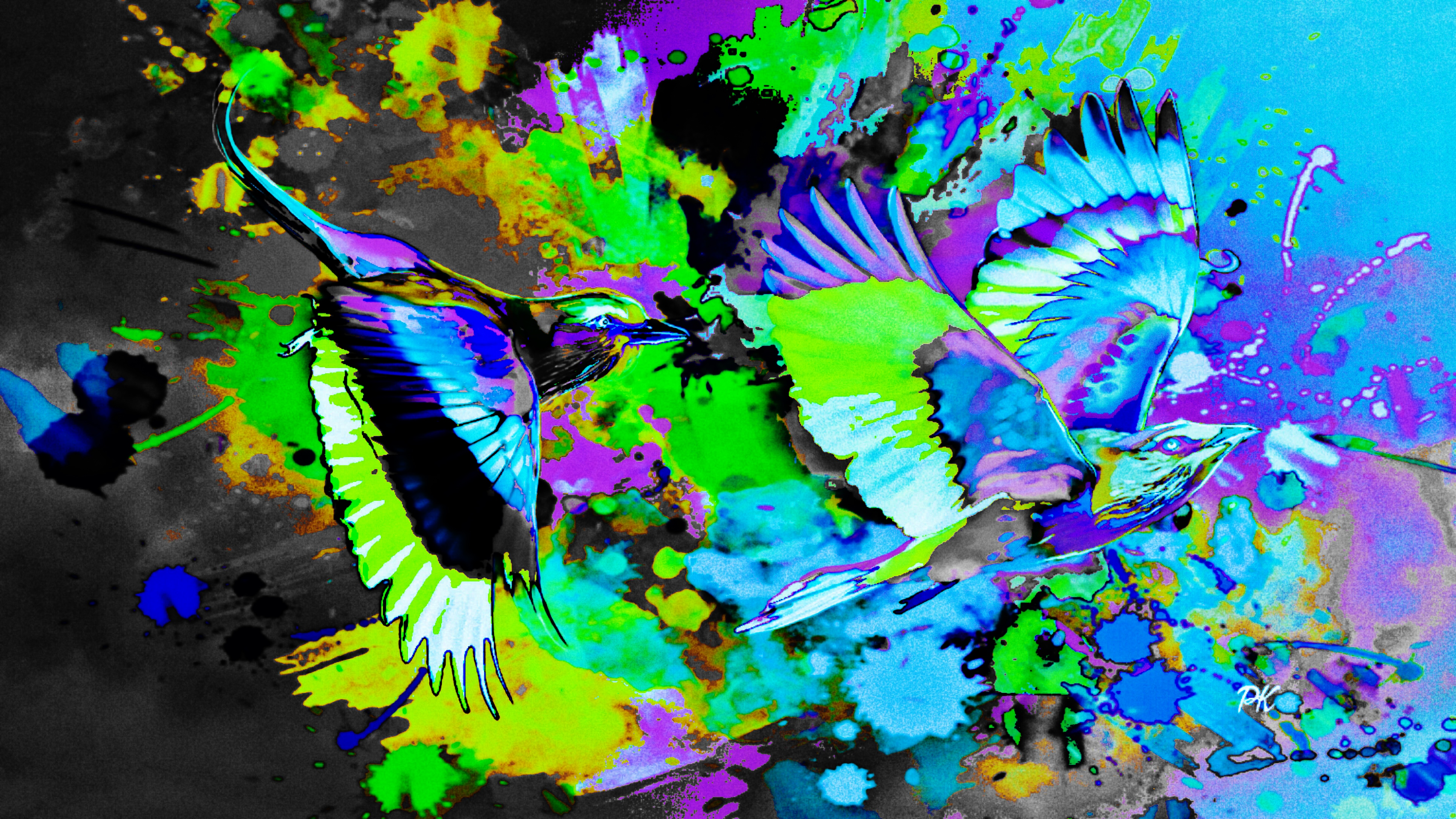Abstract Birds