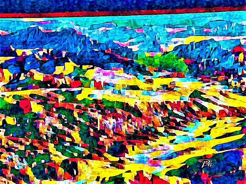 Mountains Of Colors