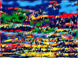 Abstract Clouds Village