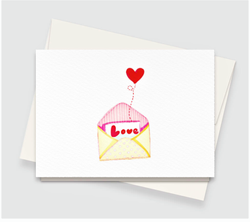 Love & Heart Greeting Card