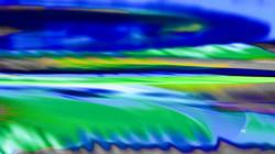 Rainbow Blue Teal Colors
