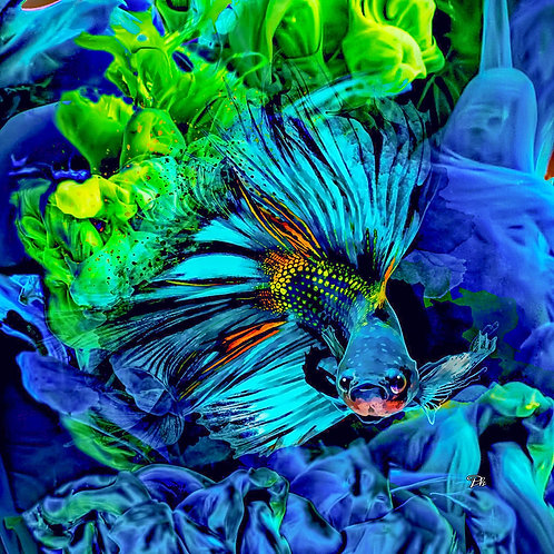 Underwater Green & Teal
