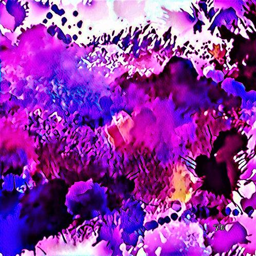 Purple & Maroon Forest