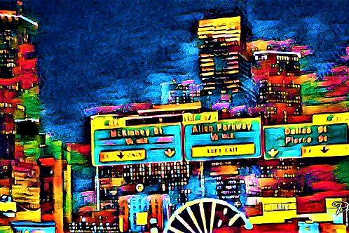 Downtown Houston Nights