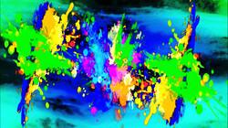 Color Splash Black Teal