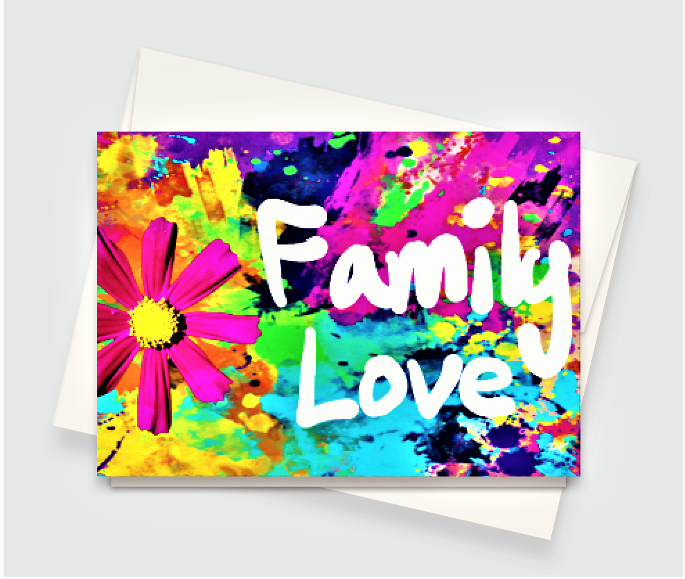 Family Love Greeting Card