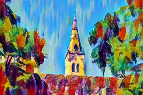 Abstract San Antonio Chapel