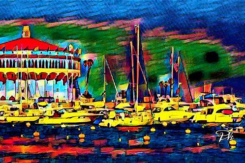 Catalina Casino Dock
