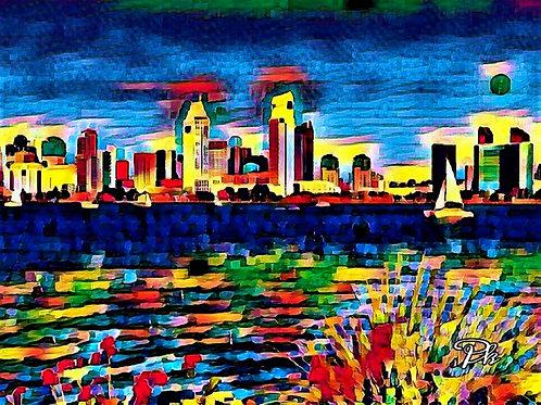 City Ocean Land
