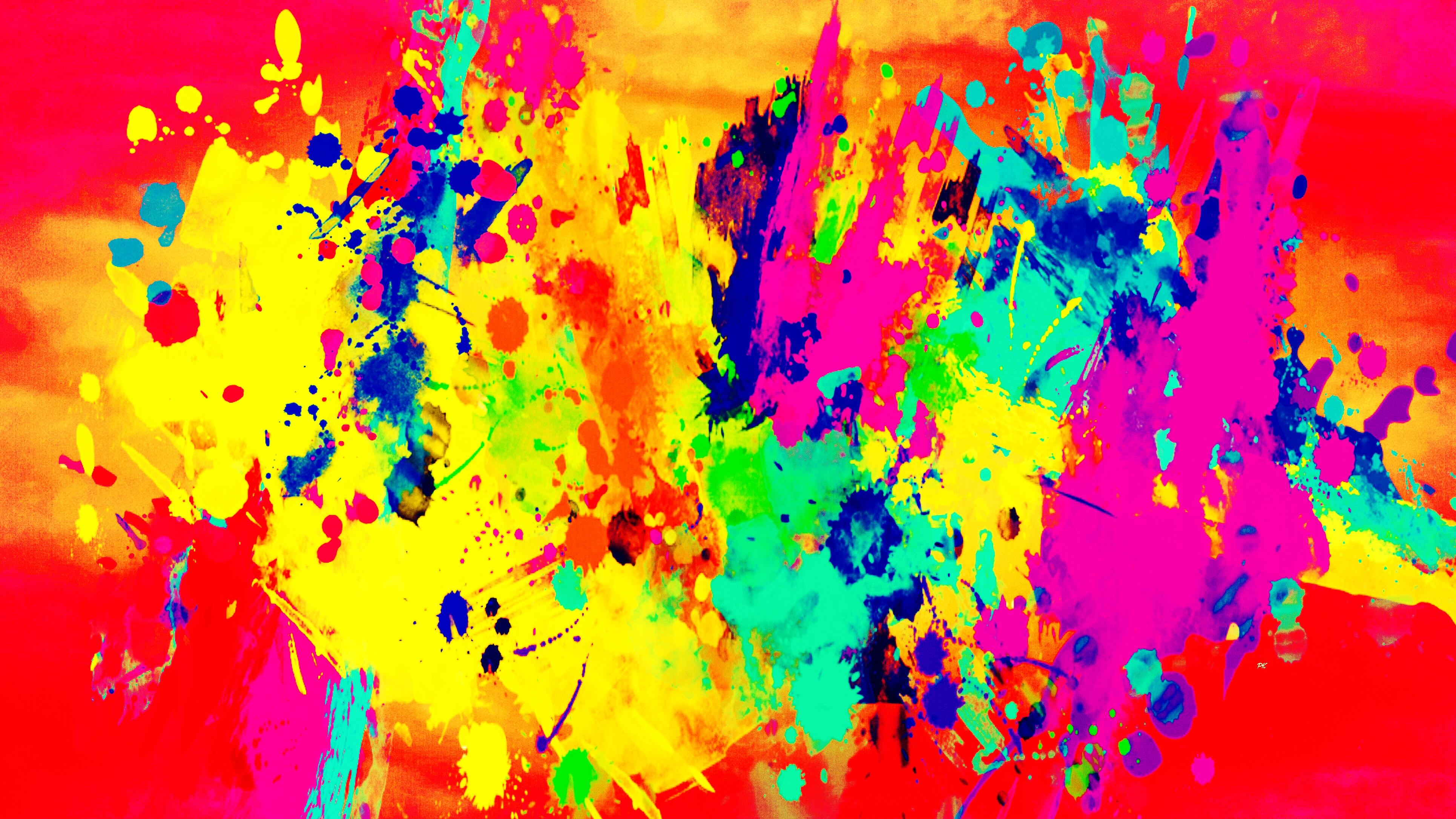 Color Splash Rust Yellow