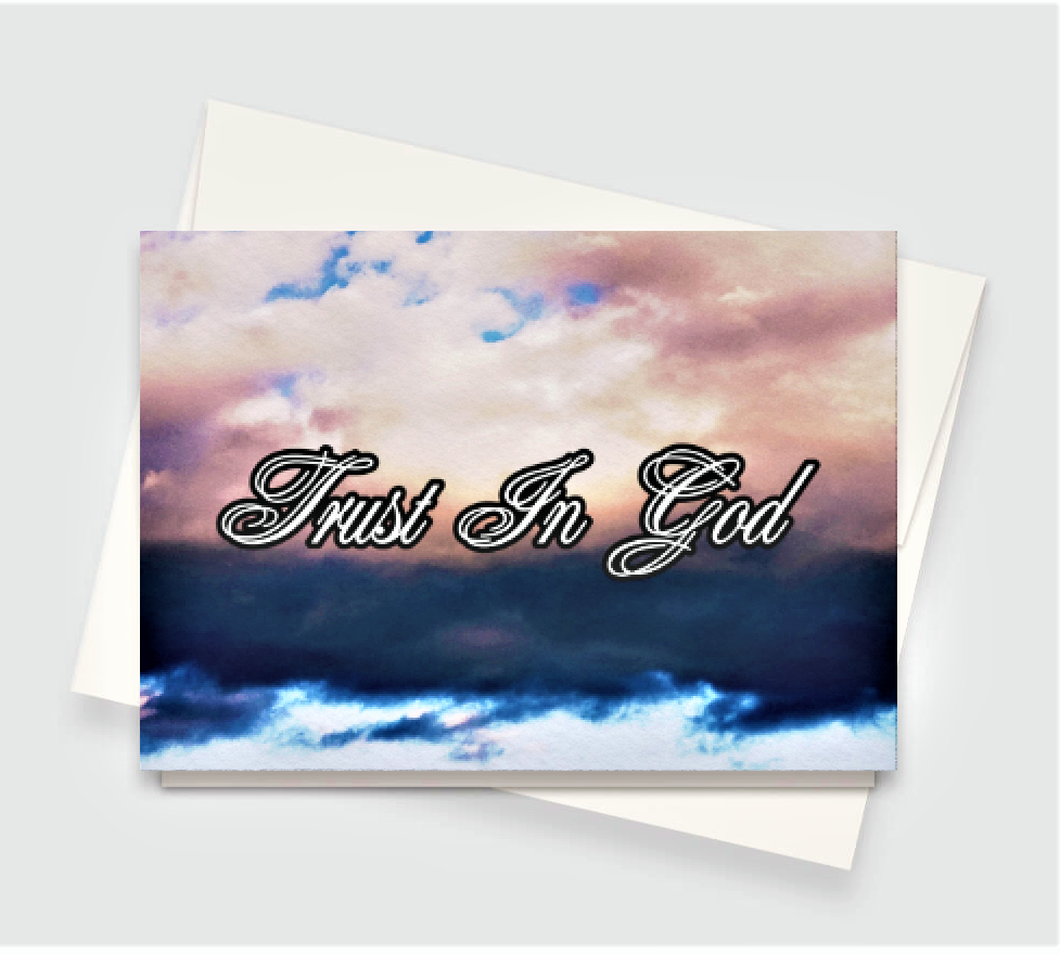 Trust In God Greeting Card