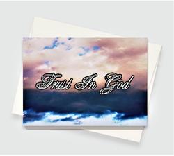 Trust In God Greeting Card