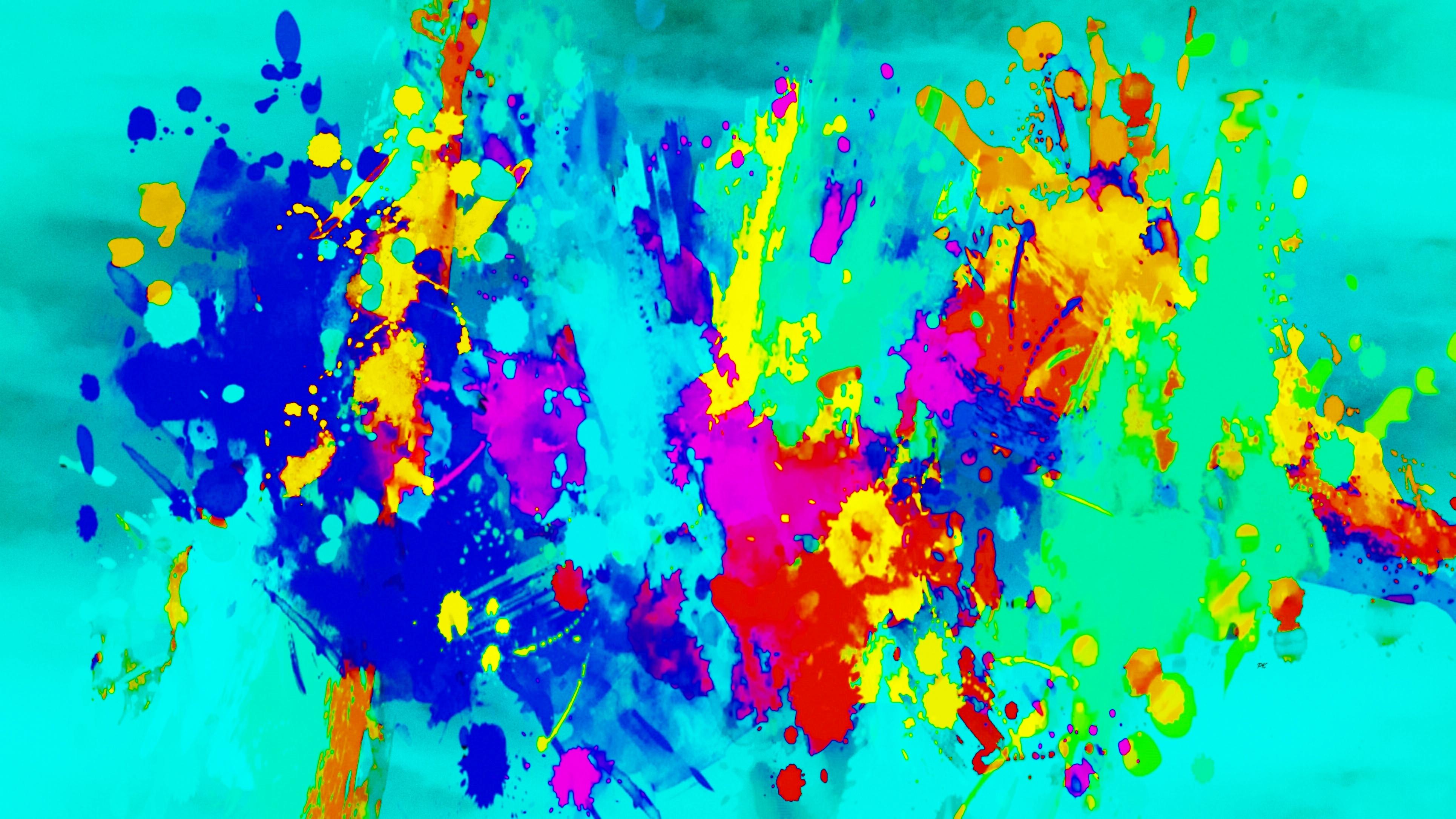 Color Splash Teal Navy