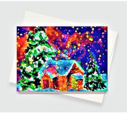 Christmas House Greeting