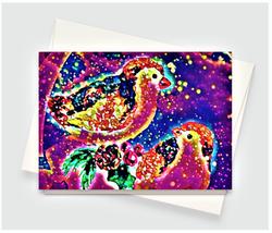 Christmas Birds Greeting