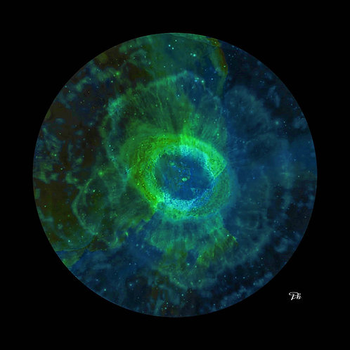 Mystic Blue Green Eye