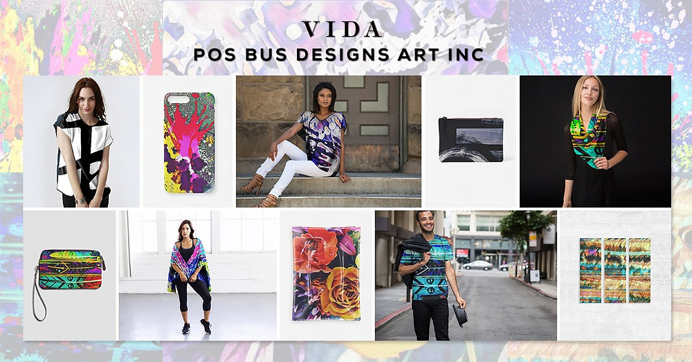VIDA & POS BUS DESIGNS ART INC