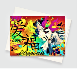 Love & Happiness Sign Card