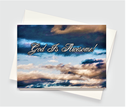 God Is Awesome Greeting