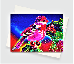 Christmas Bird Greeting