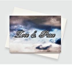Love & Peace Greeting Card