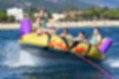 jeux aquatiques, eden club , argelès sur mer