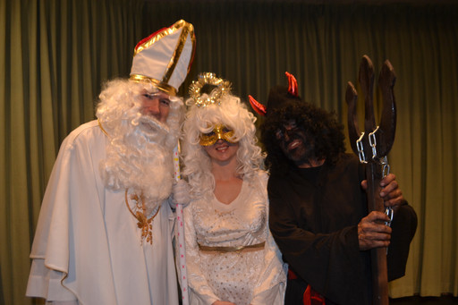 Children Celebrated Kindness, Friendship and Love with St. Nicholas & Company! Point Loma Hall w