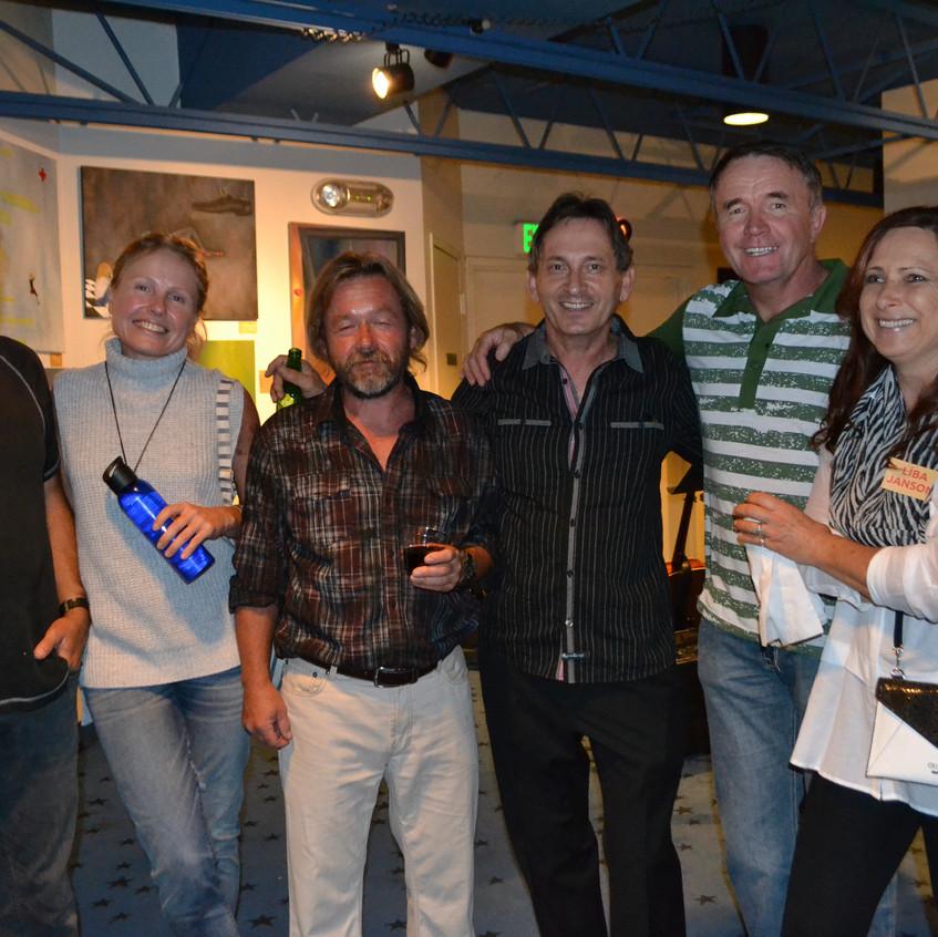 Happy Gallery Visitors