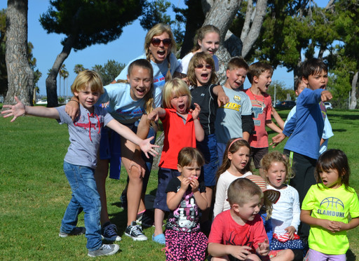 A Happy Day in Mission Bay and how Children's Smiles Make me Feel Alive!