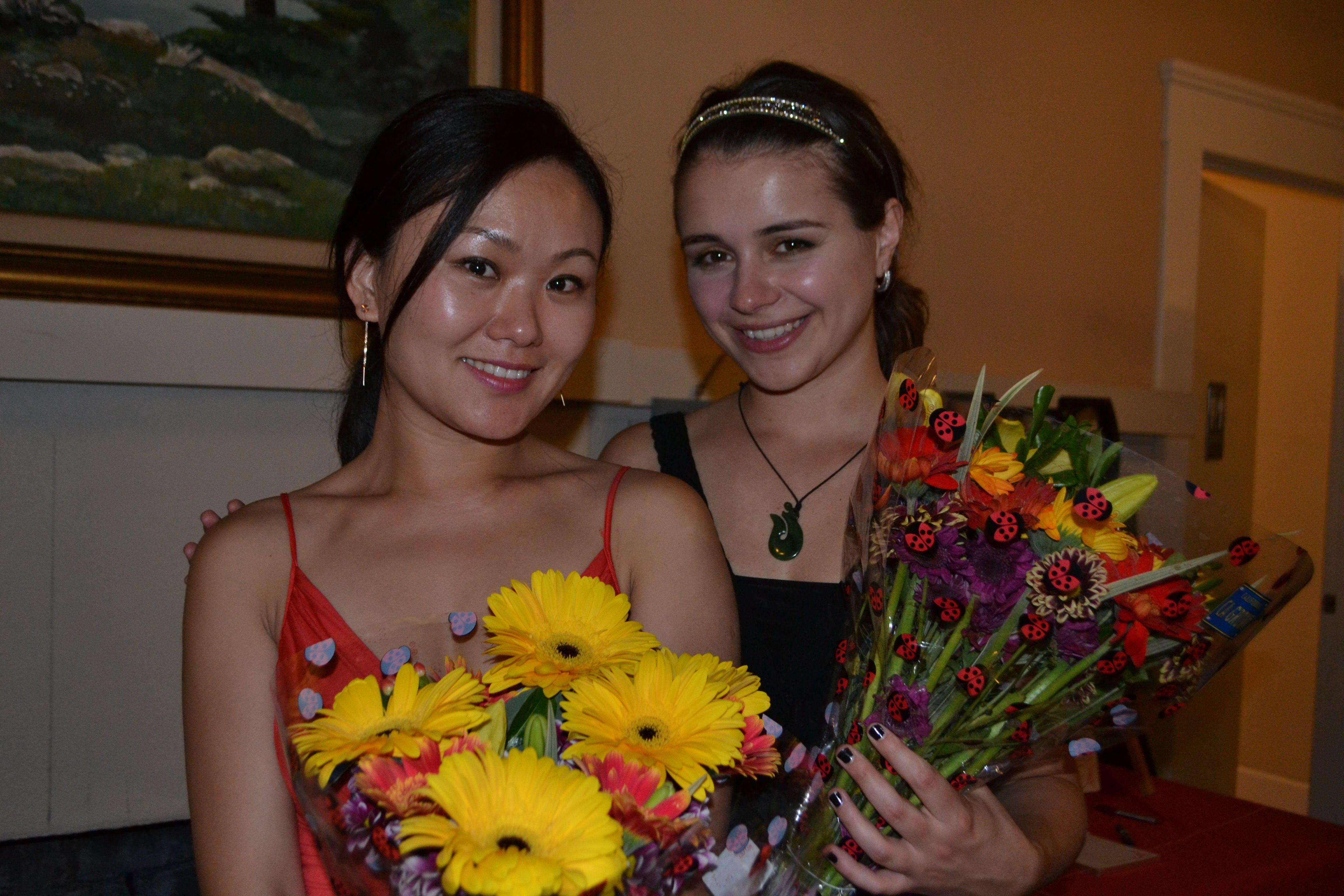 Jing Yan and Anna Skalova