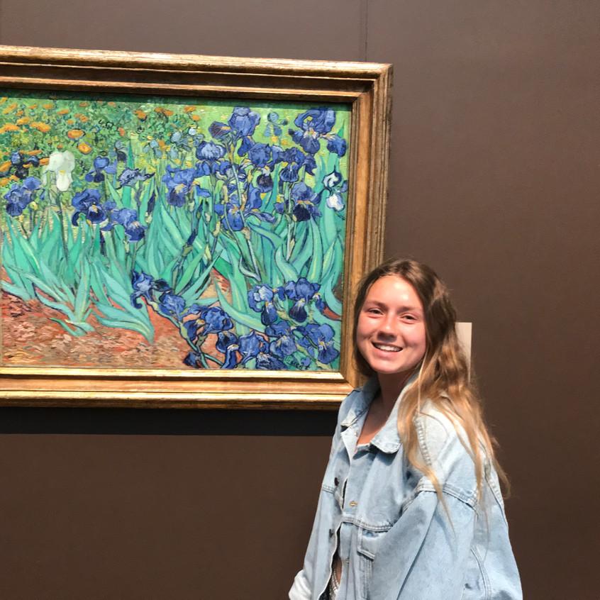 Getty museum Irises  - 1