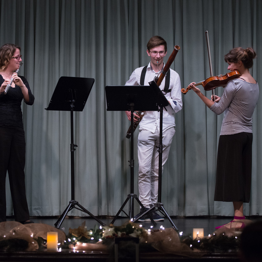 Symphonic trio Anicka, Rose, Todd what a treat!!1