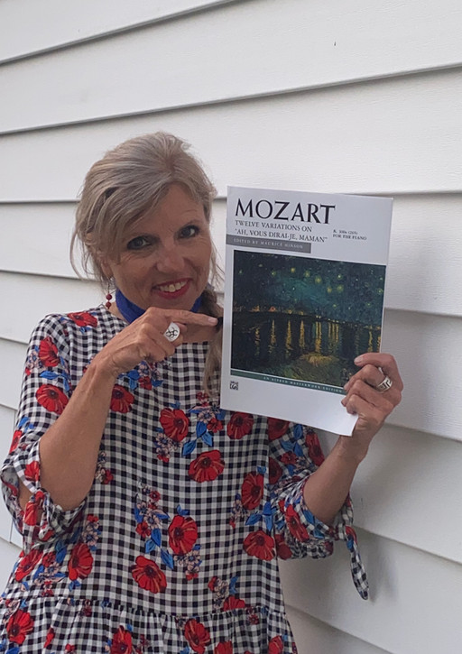 Just for you! A Short Video on Mozart's Twinkle Twinke Little Star, and Idomeneo
