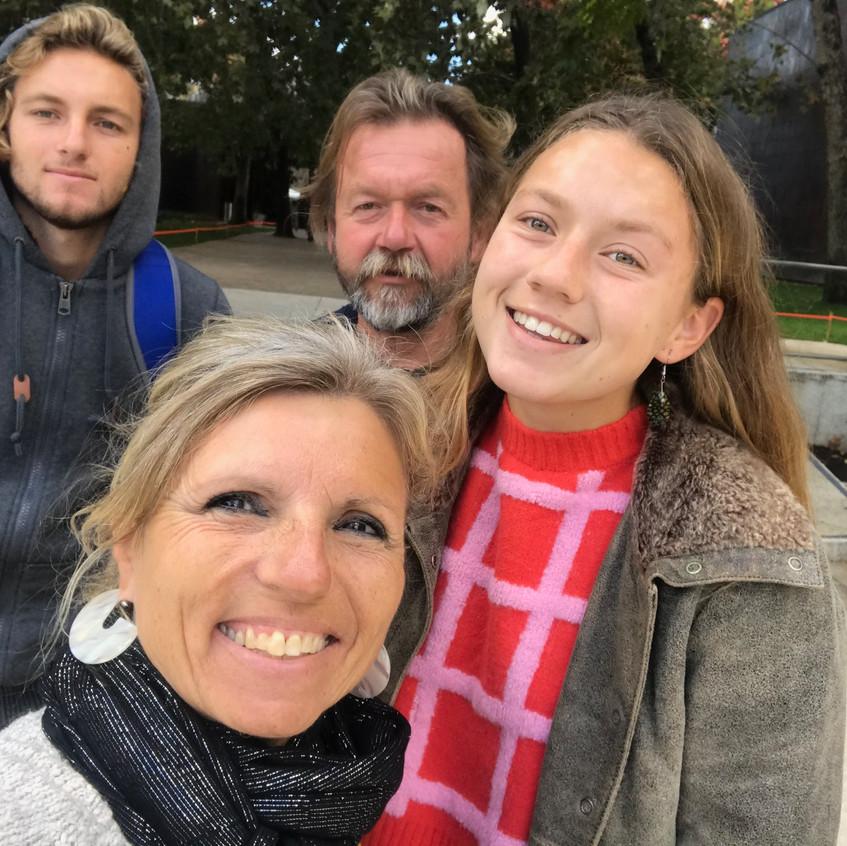 Rodina Norton Simon 2019 s rodinou - 1