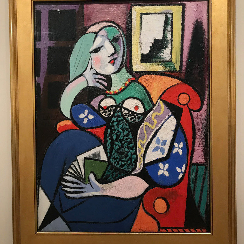 Picasso 1887-1973 Reading