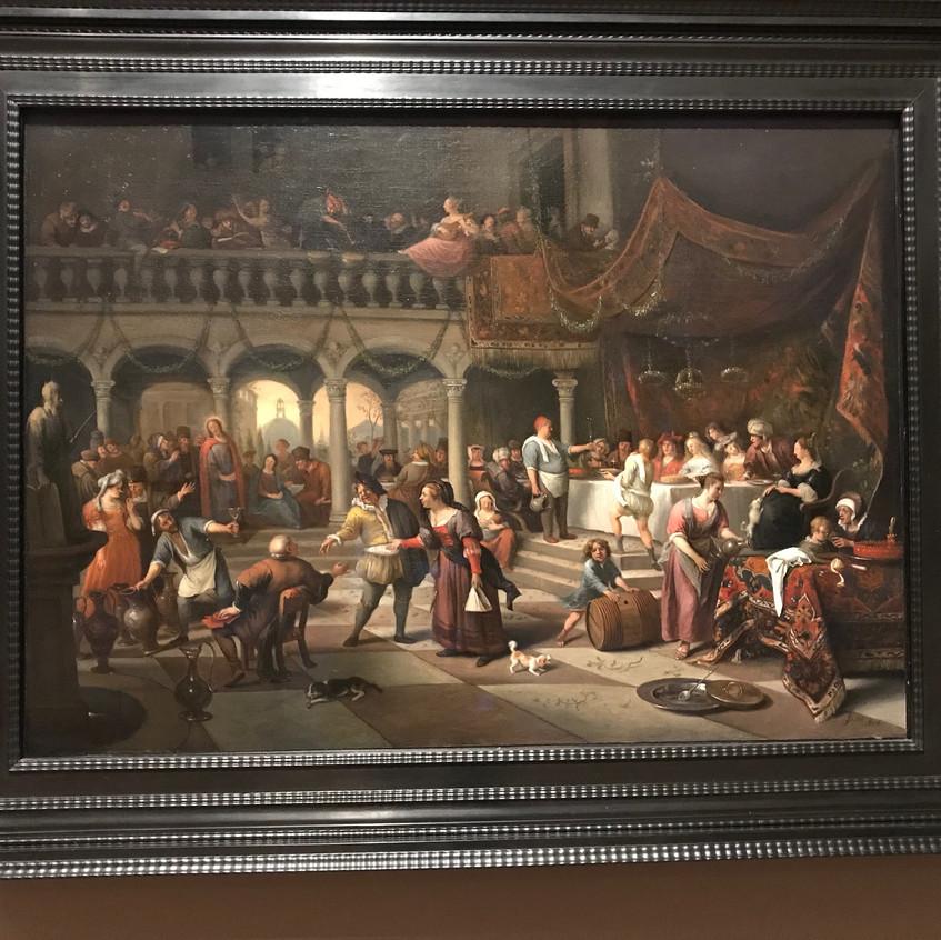 Jan Steen1676 Baroque