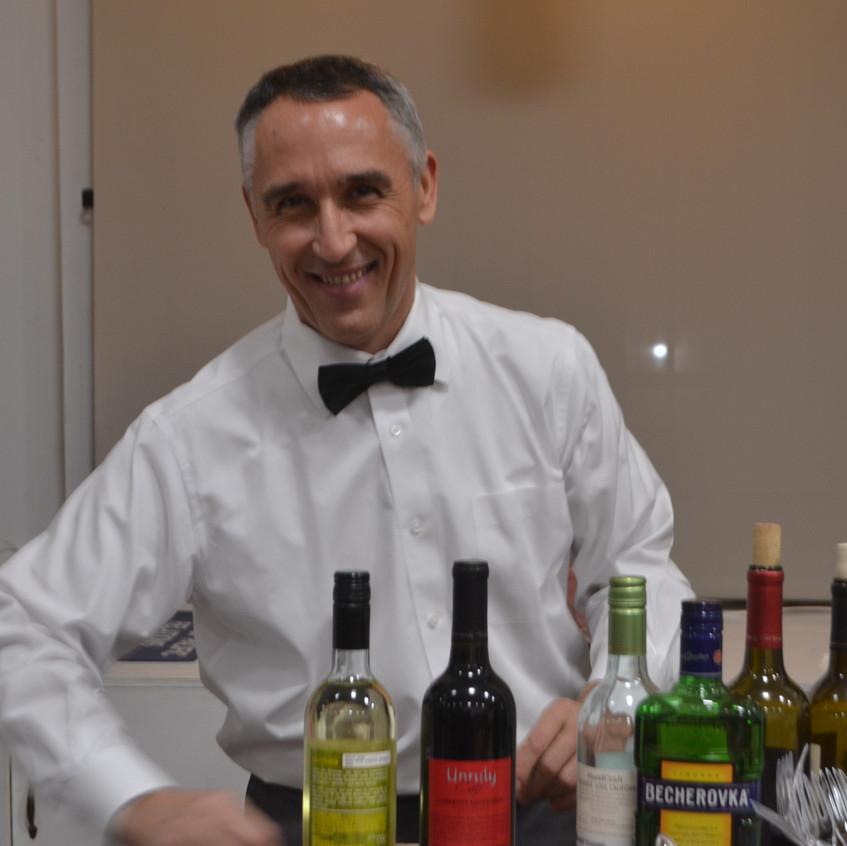 our wonderful barman - 1