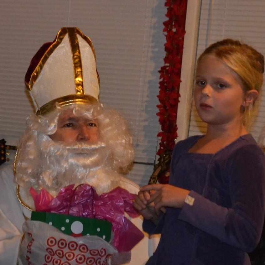Bianca and St. Nicholas