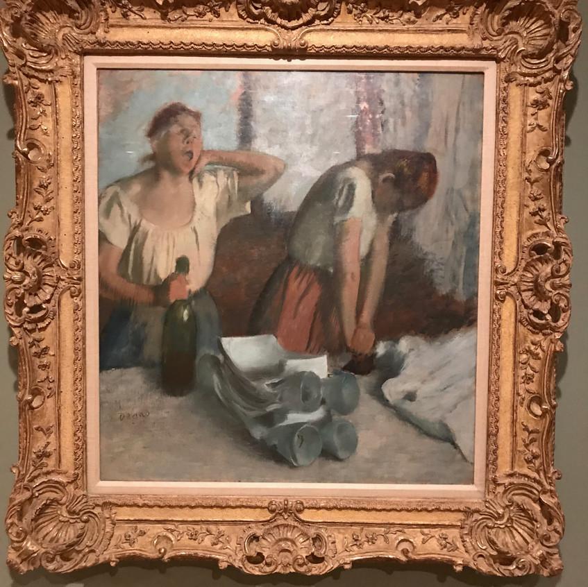 Degas Women Ironing 1876