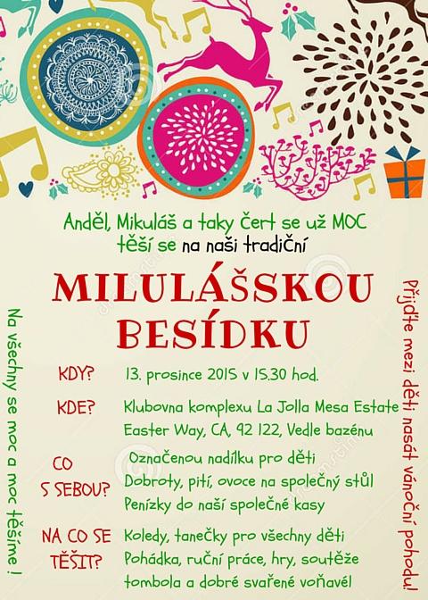 Invitation in Czech