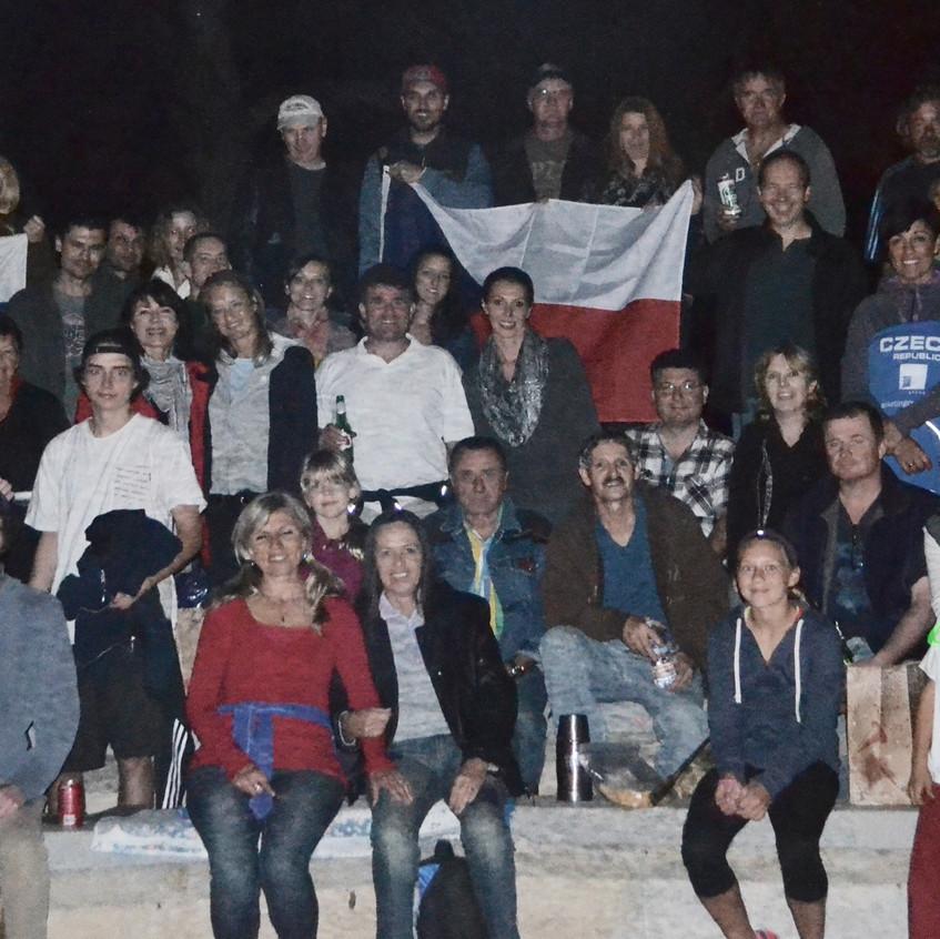 Celebration of Velvet Revolution