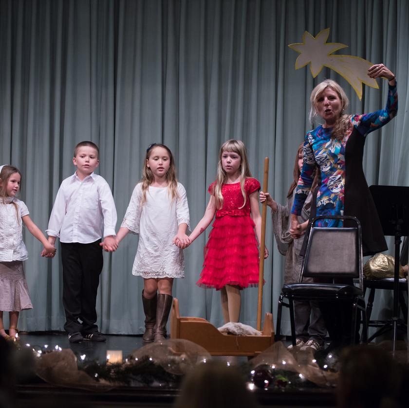 Children performance a