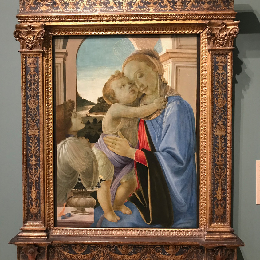 Botticelli 1444-1510 Madonna 1468