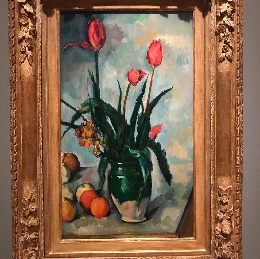 Cezanne (1839-1906) Tulips 1890