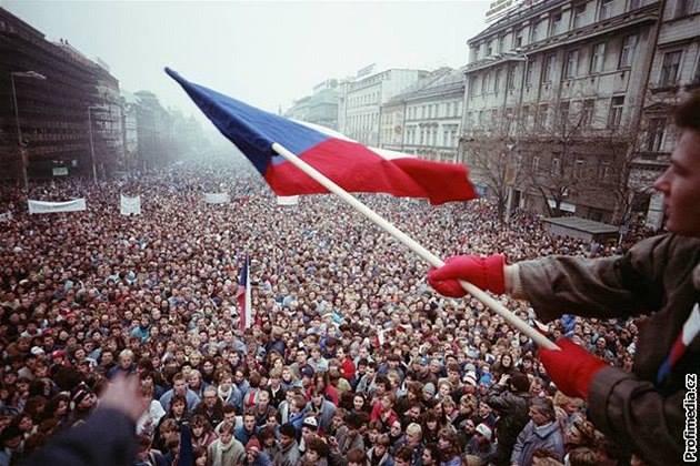 Velvet Revolution November 1989